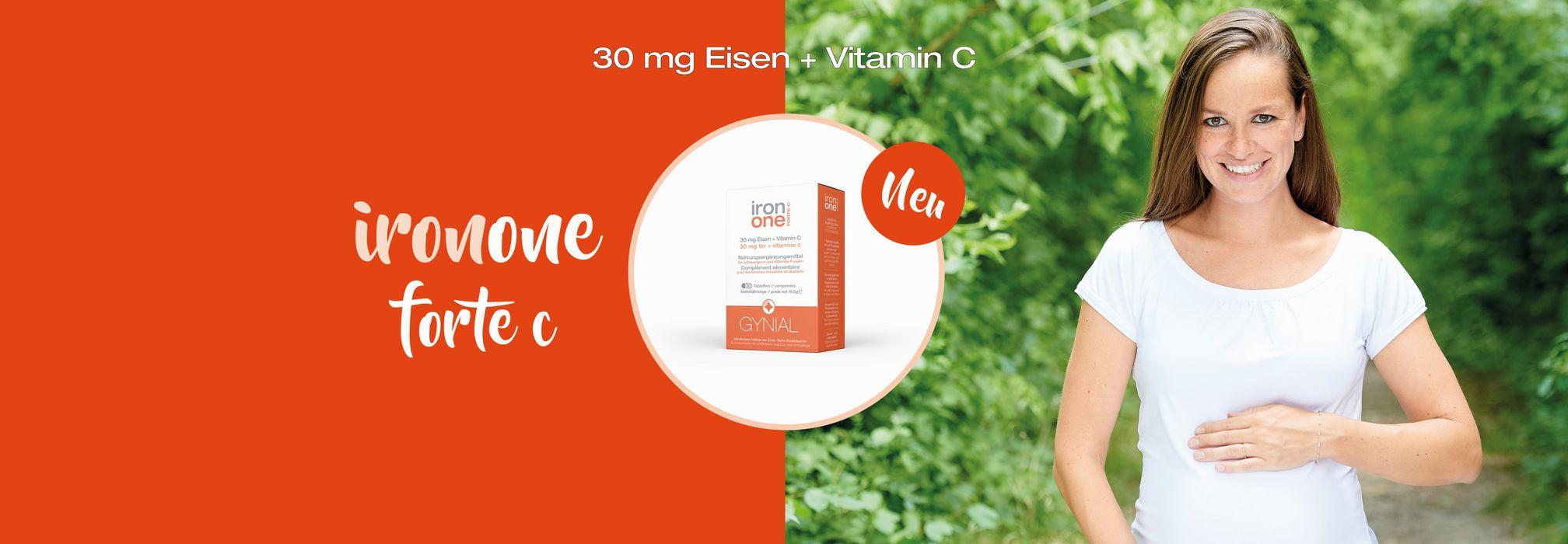 IronOne FORTE C Nahrungsergänzungsmittel Eisen und Vitamin C