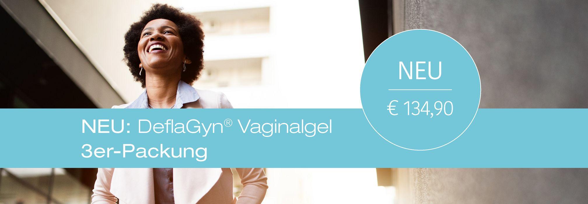 DeflaGyn Vaginalgel 3er-Packung