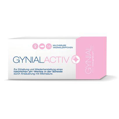 GynialActiv Milchsäure Vaginalzäpfchen