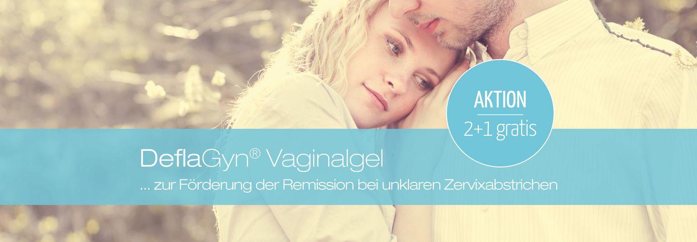 DeflaGyn Vaginalgel Aktion: 2+1 Gratis